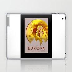 Europa - NASA Space Travel Poster (Alternative) Laptop & iPad Skin