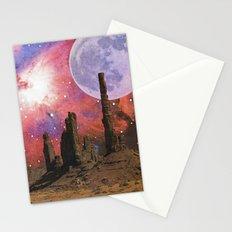 Nebula Desert Collage I Stationery Cards