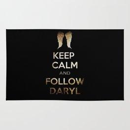 Keep Calm and Follow Daryl Rug