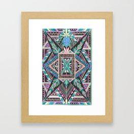 Print or T-shirt, Burnish Your Street Cred Framed Art Print