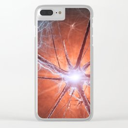 Neurons Clear iPhone Case