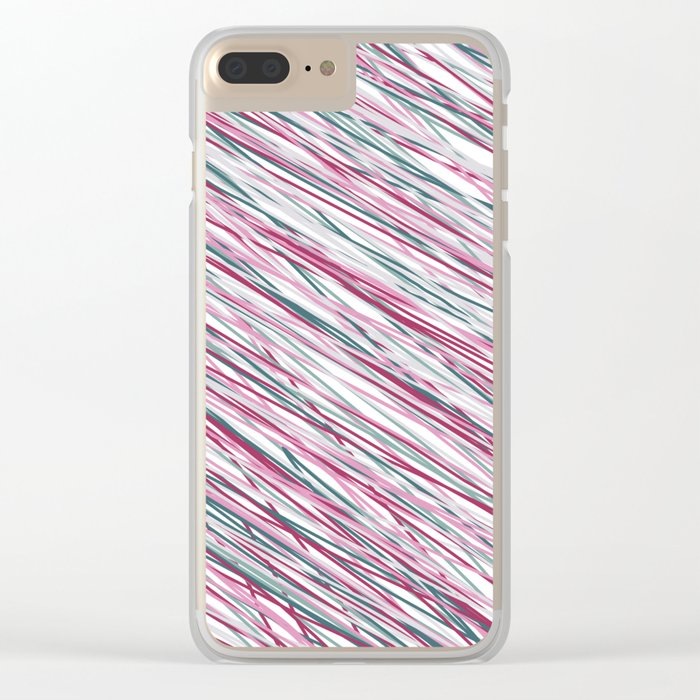 Abstract 361 Clear iPhone Case