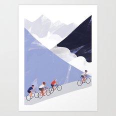 Mountain Chase Art Print