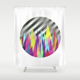 Zackenpunkt No. 3 Shower Curtain