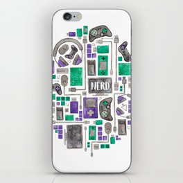 Gamer/Computer Nerd iPhone Skin