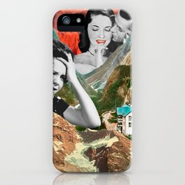 Fire Mountain iPhone Case