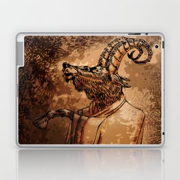 GOAT THRONE Laptop & iPad Skin
