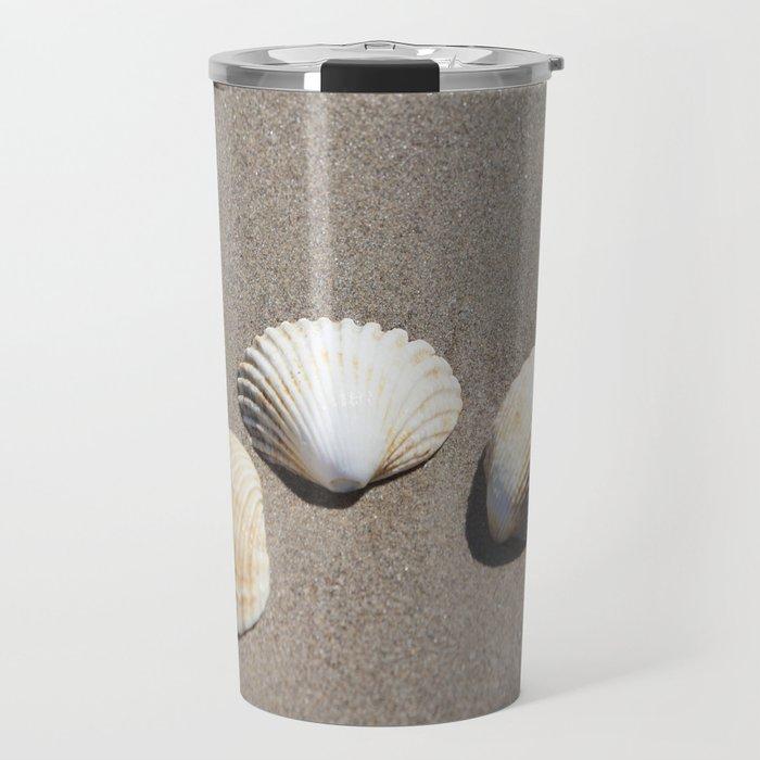 Three Seashells Travel Mug