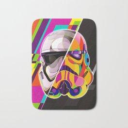 Pop-Art Stormtrooper StarWars - Abstract Artwork Bath Mat