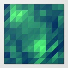 Polygon Nine Canvas Print