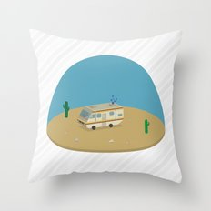 Breaking Bad RV | isometric Throw Pillow