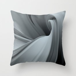 Abstract Curves Throw Pillow