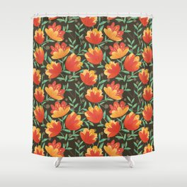 Afternoon Blossoms Shower Curtain