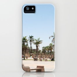 Temple of Luxor, no. 23 iPhone Case