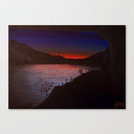 Swiss Sunset Canvas Print