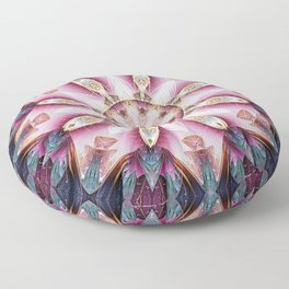 Mandalas from the Voice of Eternity 13 Floor Pillow