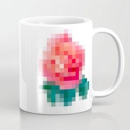 Pixel Rose Coffee Mug