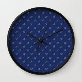 Paper crane pattern Wall Clock