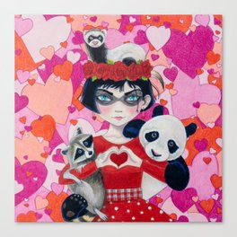 Love Bandits Canvas Print