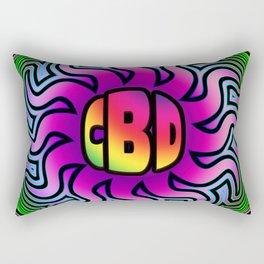 CBD Oil Sunshine Rectangular Pillow