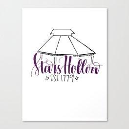 Stars Hollow Print Canvas Print