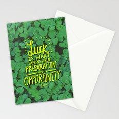 Luck x Seneca Stationery Cards