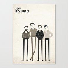 JOY DIVISION Canvas Print