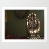 hindu Art Prints featuring Hindu  by Jessica Campbell