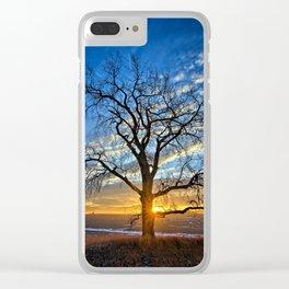 Sunburst Cottonwood 2 Clear iPhone Case