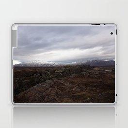 Continental drift - Thingvellir National Park Laptop & iPad Skin