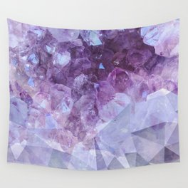 Crystal Gemstone Wall Tapestry