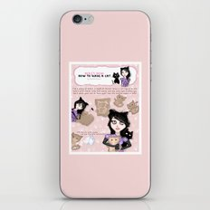 HERE'S HOW: HOW TO MAKE A CAT iPhone & iPod Skin