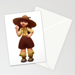 Girl Scout Stationery Cards