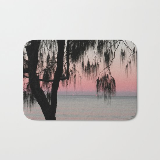 The Sunrise Weeping Tree Bath Mat