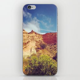 Golden Cliffs iPhone Skin