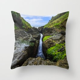 Devil's Churn Throw Pillow