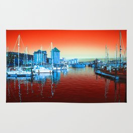 Swansea Red Rug