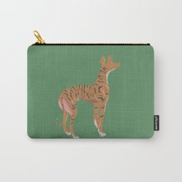 The Greyhound - Red Brindle Carry-All Pouch