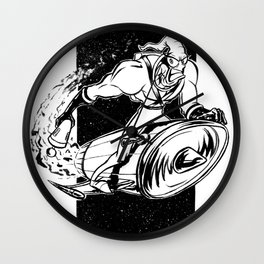 Earthworn Jim Wall Clock