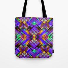 Colorful digital art splashing G480 Tote Bag