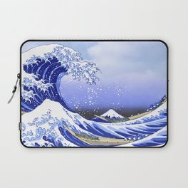 Surf's Up! The Great Wave Laptop Sleeve