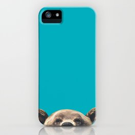 Bear - Blue iPhone Case