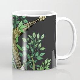 Saint Brigid's Cross in the Celtic Spring Coffee Mug