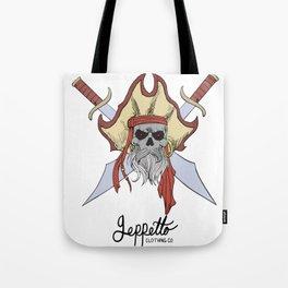 Geppetto Dead Pirate Tote Bag