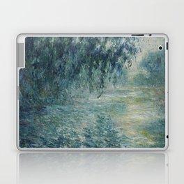 Morning on the Seine, Claude Monet Laptop & iPad Skin