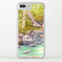 A Bridge to Morocco WC20150712a Clear iPhone Case