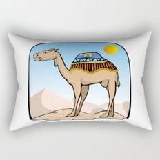 Exalted Camel Rectangular Pillow