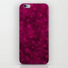 Sequin series pink iPhone & iPod Skin