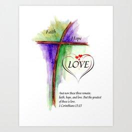 Greatest Love Art Print
