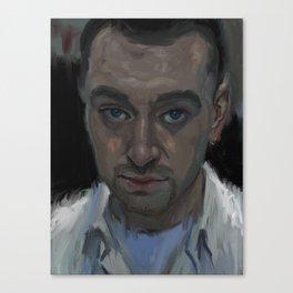 Sam Smith Canvas Print